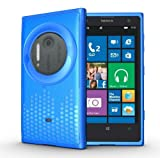 TUDIA Ultra Slim Melody Series TPU Protective Case for Nokia Lumia 1020 / Nokia EOS (Blue)