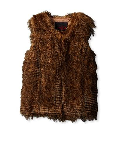 Yoki Women's Faux Fur Vest