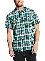 CMP Campagnolo Camisa Hombre 3T57057 (Antracita / Verde)