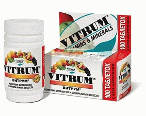 Vitrum Vitamins & Minerals 100 Tablets