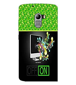 PrintDhaba Abstract Image D-4258 Back Case Cover for LENOVO K4 NOTE A7010a48 (Multi-Coloured)