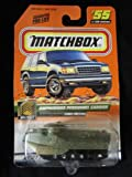 Amphibious Personnel Carrier Matchbox First Edition Military Vehicle #55