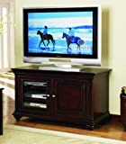 Entertainment Console by Hooker Furniture - Natural Wood (005-55-470)