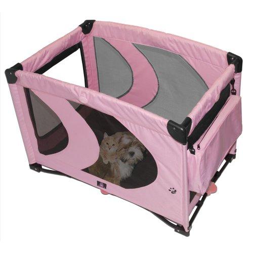 Artikelbild: Pet Gear Tragbarer Hundeauslauf, pink
