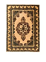 CarpeTrade Alfombra Deluxe Persian Vintage (Marrón/Beige)