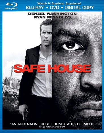 Cover art for  Safe House (Blu-ray + DVD + Digital Copy + UltraViolet)