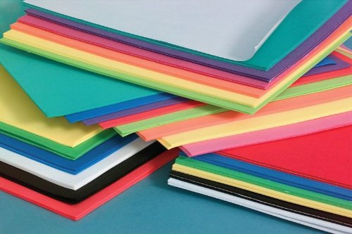 Cheap Foam Sheets 12X18 12/Pkg-Basic Colors