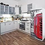 Domo D0115AJV5 London Fridge Appliance Stickers
