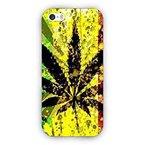 EYP Weed Marijuana Back Cover Case for Apple iPhone 5S