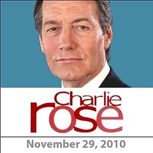 Charlie Rose: James Rubin, Scott Shane, David Sanger, and Charles Ferguson, November 29, 2010 Radio/TV Program