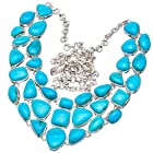 Ana Silver Co Turquoise 925 Sterling Silver Signature Necklace 20 1/4