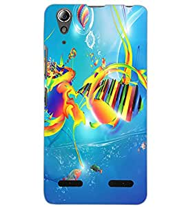 LENOVO A6000 MUSIC Back Cover by PRINTSWAG