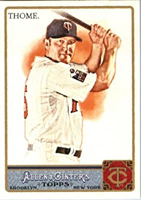 2011 Topps Allen and Ginter Baseball Card #204 Jim Thome - Minnesota Twins - MLB Trading Card