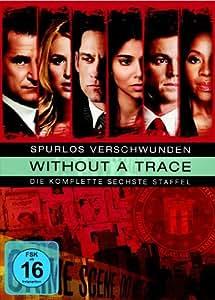 Without a Trace - Spurlos verschwunden: Die komplette sechste Staffel (3 DVDs)