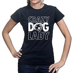 Crazy Dog Lady Puppy Animal Lover T-shirt