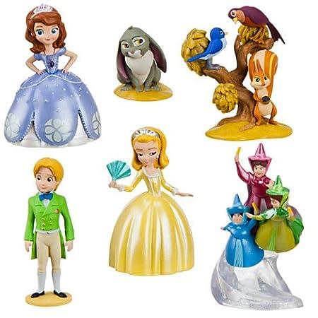 Disney Princess Disney Princess Sofia la premi?re figure Play Set Princesse Sofia petit ensemble de jeux chiffres ensemble de 6 (japon importation)