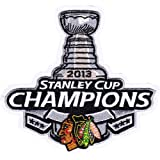 2013 NHL Stanley Cup Final Champions Chicago Blackhawks Official Patch Emblem (Pre-Order) at Amazon.com