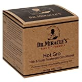 Dr. Miracles Hot Gro Hair and Scalp Treatment Conditioner 4 oz (Set of 2)