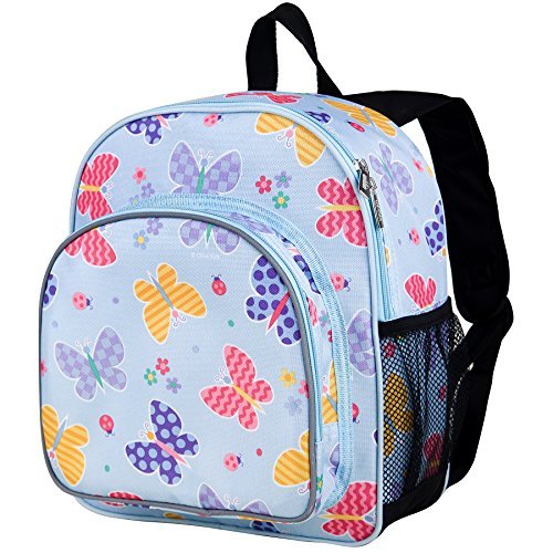 Wildkin Olive Kids Butterfly Garden Pack 'n Snack Backpack