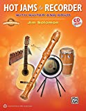 Hot Jams for Recorder: With Guitar and Drum (Book & CD)