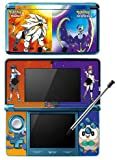 Pokemon Sun and Moon Game Skin for Nintendo 3DS Console 100% Satisfaction Guarantee!