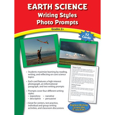 Writing Styles Photo Prompts Earth Science Grade 2+