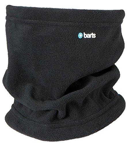 Barts - Fleece Col Kids Basic, Set sciarpa, cappello e guanti Bambino, Nero (Schwarz), Taglia unica (Taglia Produttore: One Size)