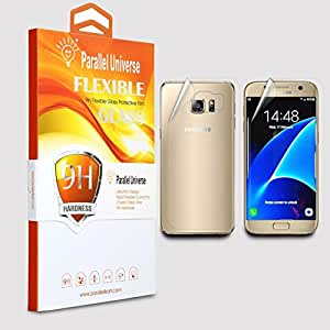 Parallel Universe UNBREAKABLE FLEXIBLE Tempered Glass Screen Protector for Samsung Galaxy S7 2 in 1 front and back
