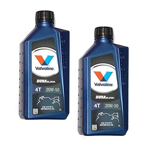 valvoline-2-x-1l-durablend-teilsynthetisches-huile-de-moto-4t-20-w-de-50