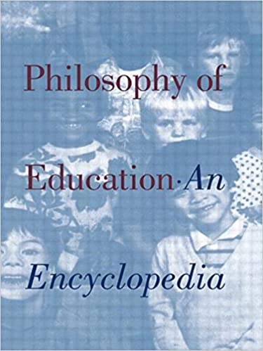 Book cover: philosophy of education: an encyclopedia