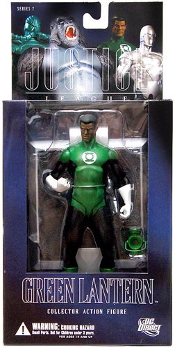 Picture of DC Direct Alex Ross Justice League 7: Green Lantern John Stewart Action Figure (B000REM9TY) (Green Lantern Action Figures)