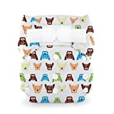 Thirsties Duo All in One Cloth Diaper, Hoot, Size One (6-18 lbs) Baby, NewBorn, Children, Kid, Infant
