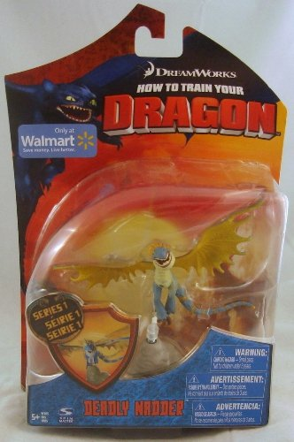 How to train your dragon movie series 3 deluxe 7 inch action figure how to train your dragon movie 4 inch action figure deadly nadder ccuart Image collections