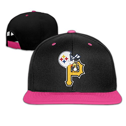 Annabelle Pirates King Ice Hocky Unisex Adjustable Hip-hop Baseball Cap Pink