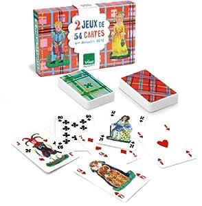 Vilac Nathalie Lete Playing Card Game, Set of 2