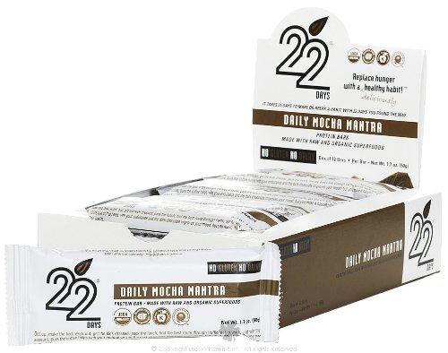 22 Days Bars, Daily Mocha Mantra, 50 Gram (Pack Of 1)