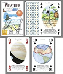 Weather Facts & Phenomena Playing Cards