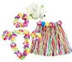 HAWAIIAN SET FANCY DRESS COSTUME KIT...