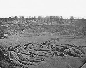 Amazon.com: New 8x10 Civil War Photo: Confederate Dead in front of
