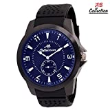 AB Collection Black Dial Men's Watch