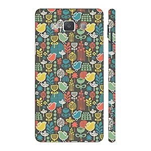 Enthopia Designer Hardshell Case Poultry It Up! Back Cover for Samsung Galaxy E7