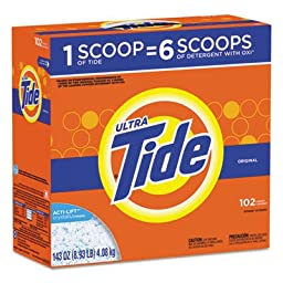 Tide Powder Detergent, Original Scent, 102 loads, 143 oz