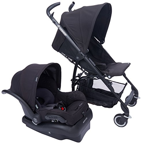 Maxi-Cosi Kaia and Mico NXT Travel System, Total Black - 1
