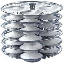 Anantha Aluminium Idli stand, 6 Plates