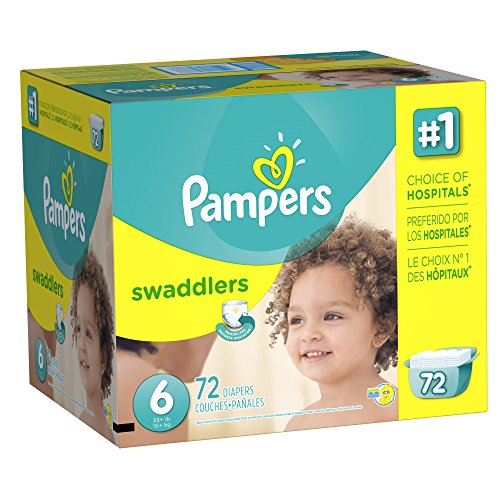 Pampers Swaddlers Diaper Size 6 Giant Pack 72 Count