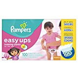 Potty training makes sense with Pampers Easy Ups!  You and your little girl will know when she's ready for potty training. Pampers Easy Ups Training Pants are designed for when your little girl is ready for potty training during the day, but still ne...