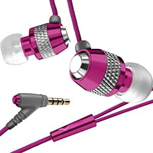 V-MODA Vibe In-Ear Noise-Isolating Metal Headphone (Blush) (Discontinued by Manufacturer)