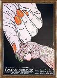 ポスター アンジェイ ポンゴフスキ ローズマリーの赤ちゃん [ロマン ポランスキー] 額装品 コンペックスフレーム(ゴールド)