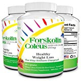 Forskolin Fat Burner Appetite Suppressant with Coleus Forskohlii - Natural Weight Loss Supplement and Metabolism Booster