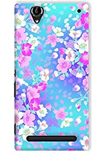 IndiaRangDe Hard Back Cover FOR Sony Xperia T2 Ultra